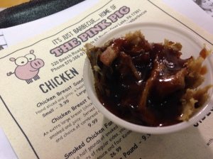 Pulled Pork with Honey BBQ - Pink Pig