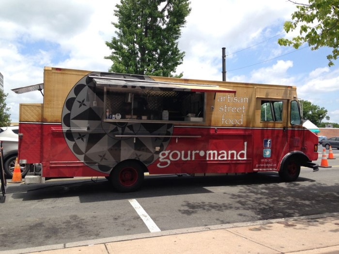 The Gourmand Food Truck at West Reading Farmers Market