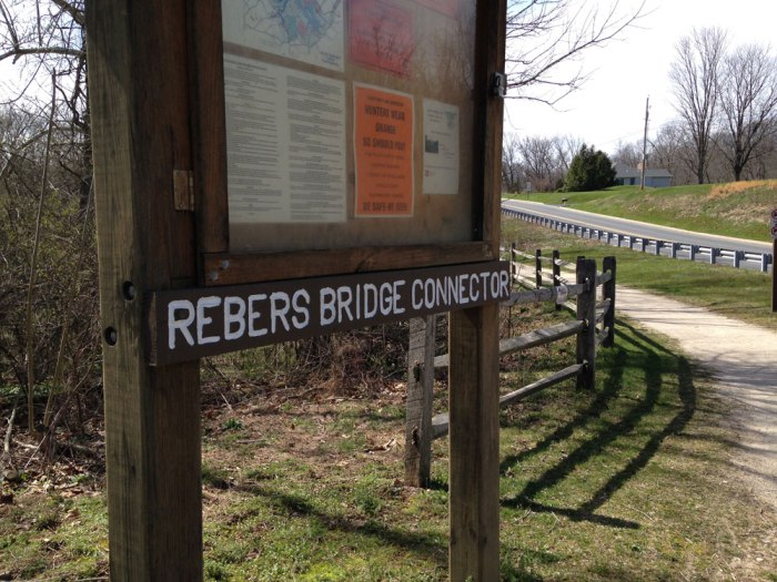 Rebers Bridge Connector Trail