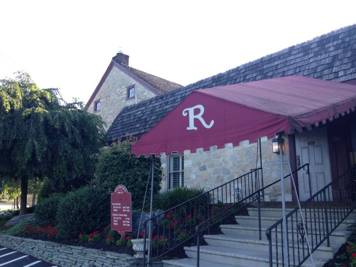 The entrance to the historic Revere Tavern