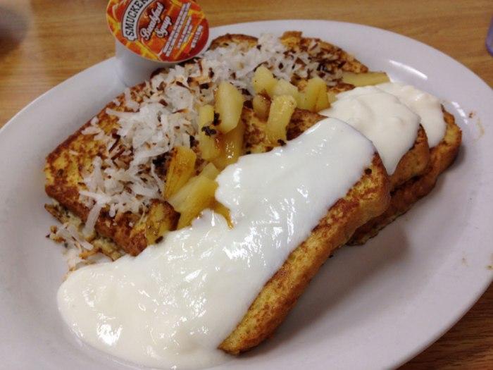 Mmm...Hawaiian bread French toast