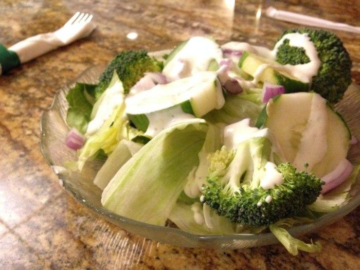 A simple salad.