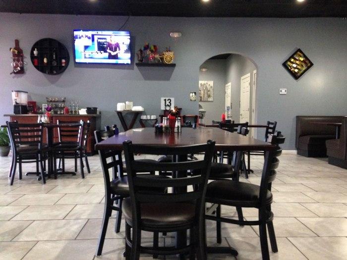 Inside Sophia's Restaurant & Pizzeria, Reading, PA.