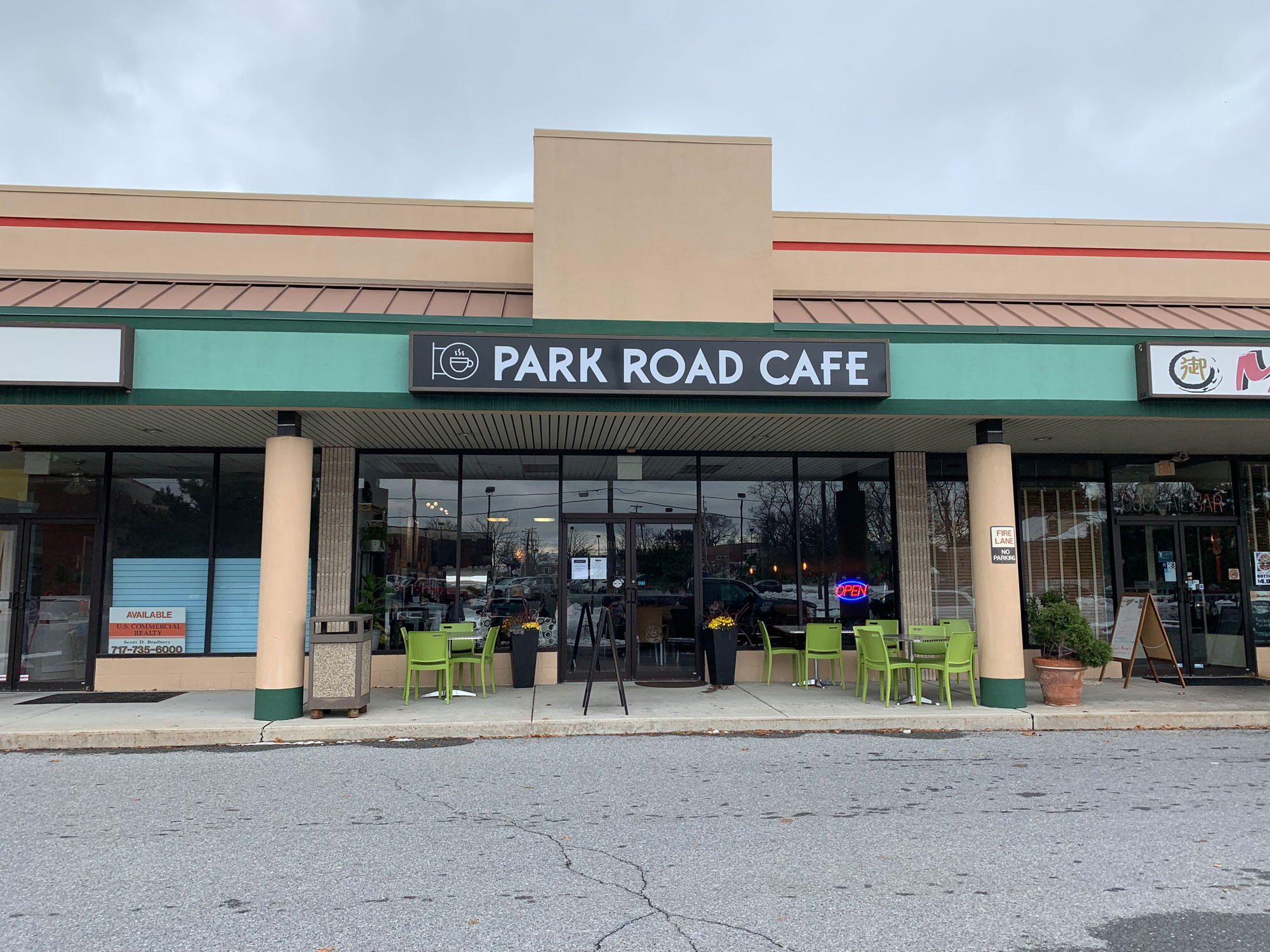 Park Road Cafe Berks County Eats
