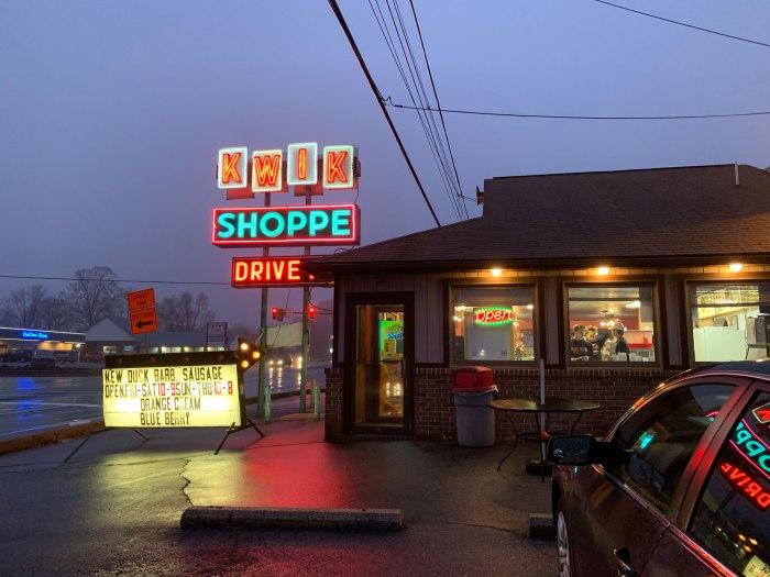 Kwik Shoppe Drive-In Shoemakersville, PA