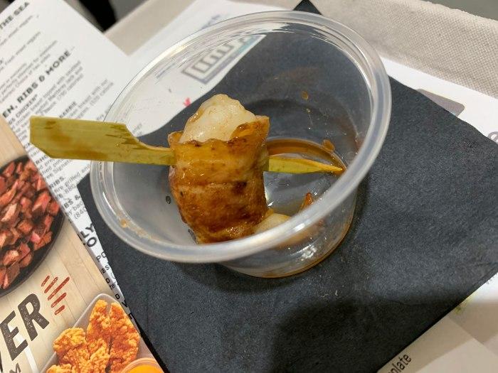 Mocha-Crusted Bacon-Wrapped Shrimp from Adelphia Seafood