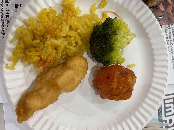 General Tso's Chicken from Mikura