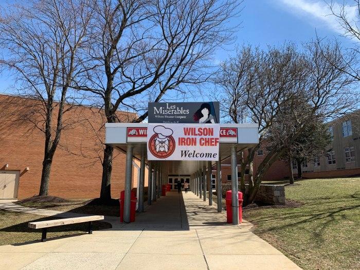 Wilson Iron Chef 2019 Entrance